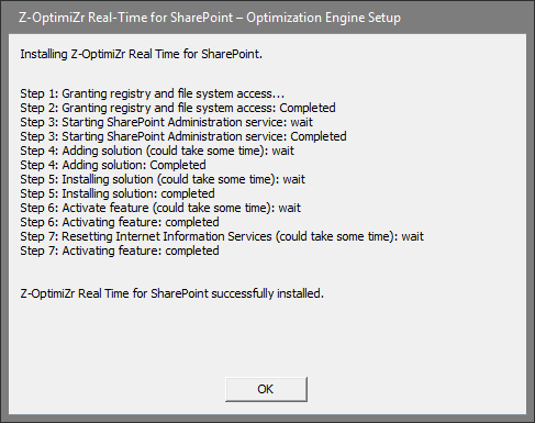 The Z-OptimiZr Real-Time automatic setup program