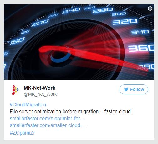 File server optimization before migration = faster cloud