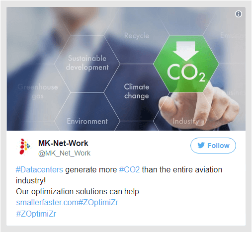 File Server Optimization can help ICT industry to reduce its CO2 footprint
